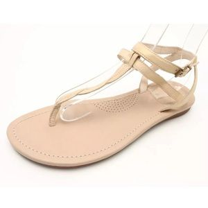 UGG Leather Ankle Double Strap Sandals SZ. 10 W